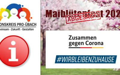 Maiblütenfest 2020 – Abgesagt!